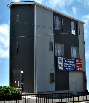 施工事例 | 3階建店舗付住宅