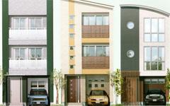 テクノストラクチャーで建てる3階建ての家
