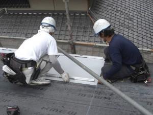 太陽光パネル設置工事4