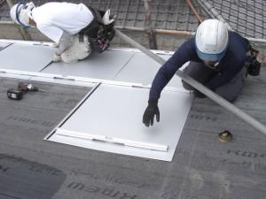 太陽光パネル設置工事6