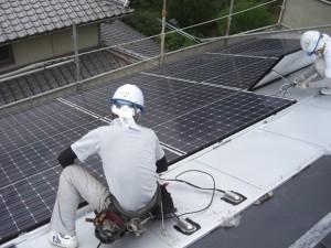 太陽光パネル設置工事8
