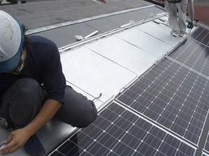 太陽光パネル設置工事9