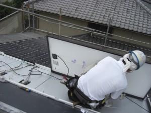 太陽光パネル設置工事10