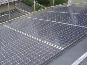 太陽光パネル設置工事12