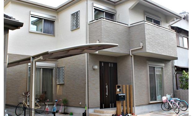 新築注文住宅の建築施工事例(枚方市H様邸)