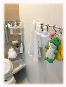 浴室の小物類
