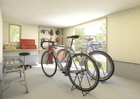 自転車整備工場