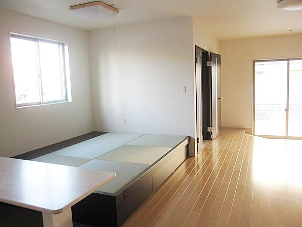 施工事例:小上がりの和室2