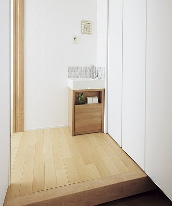 玄関洗面台2