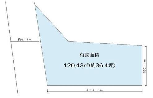 土地平面図