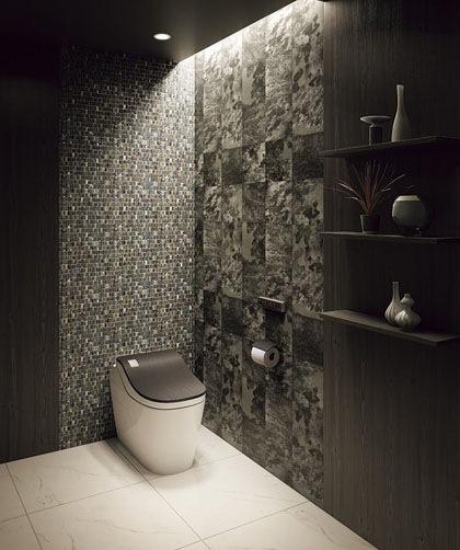 白以外の色のトイレ